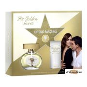 Antonio Banderas Her Golden Secret EDT szett