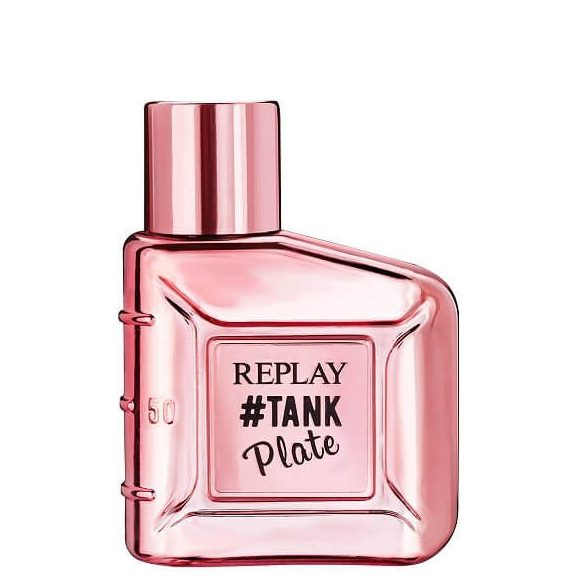 Replay Tank Plate for Her EDT 50ml